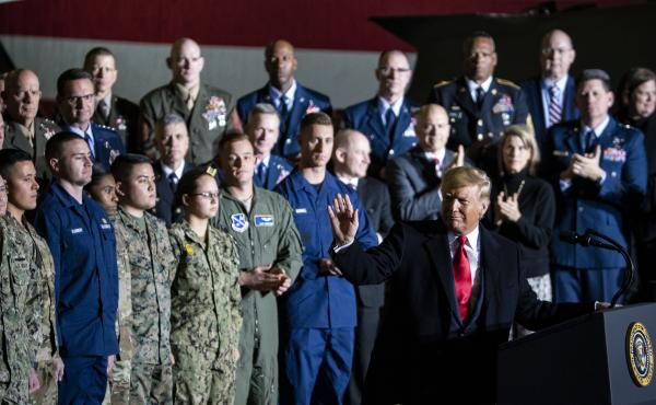 President Donald Trump signed the National Defense Authorization Act on Friday, notably creating the new Space Force.