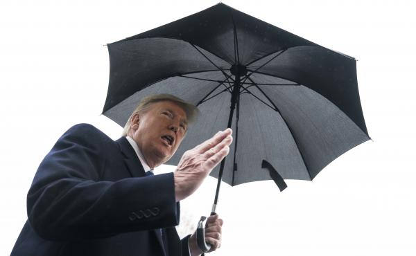 "During his remarks to reporters before his departure to Norfolk, Va., President Trump said outside the White House that there was a ""possibility that sometime today"" there will be a two-week quarantine on parts of New York, Connecticut and New Jersey."