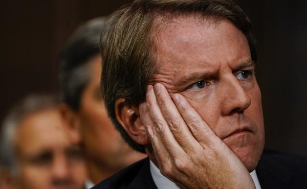 Former White House counsel Donald McGahn appears at a Senate Judiciary Committee in September 2018 on Capitol Hill.