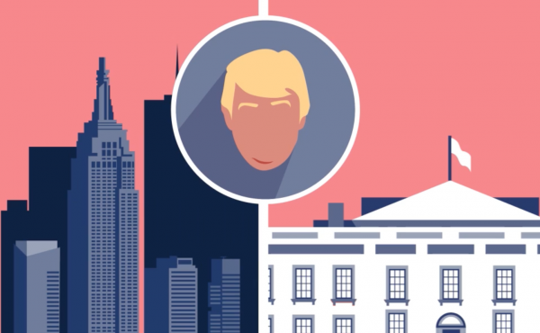 Ever since he won the election, Trump the president has done little to separate himself from Trump the businessman.