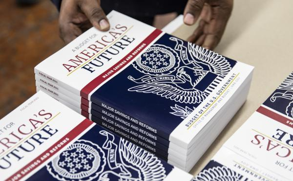 Hot off the presses: President Trump's budget proposal for fiscal year 2021. The election year proposals are unlikely to gain traction in the Democratic-controlled House of Representatives.