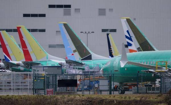 President Trump plans to nominate Stephen Dickson to lead the FAA. The agency is under scrutiny for its response to two crashes of Boeing 737 airplanes, which are pictured here outside of the company's factory in Renton, Wash., on March 14.