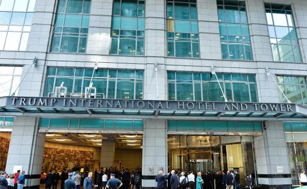 """The Trump International Hotel and Tower opened in Toronto on April 16, 2012. In the years since, """"There were parts of the building itself that fell down onto the street and actually shut down parts of our downtown at times, because there were concerns abo"""