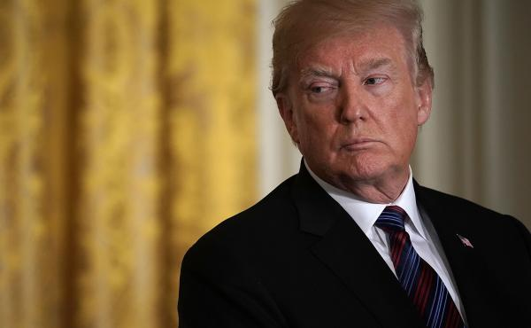 """When President Trump was asked on March 22 whether he still wanted to testify before special counsel Robert Mueller, Trump said: """"Yes. I would like to."""""""