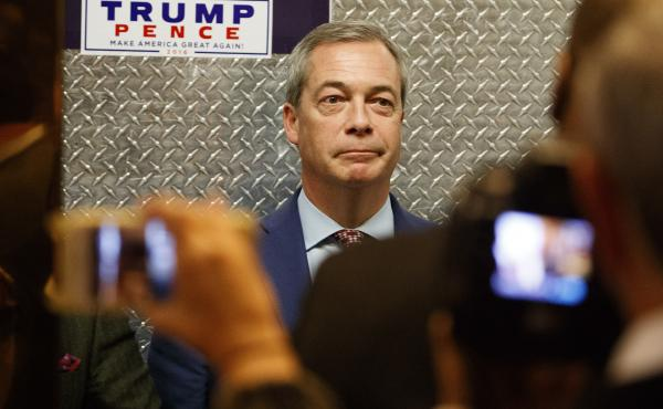 U.K. Independence Party co-founder Nigel Farage visited Donald Trump at Trump Tower days after the U.S. election. Trump suggested the British government appoint Farage to be the U.K.'s ambassador to Washington – advice Prime Minister Theresa May ignored