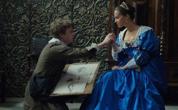 Artist Jan Van Loos (Dane DeHaan) begins an affair with Sophia Sandvoort (Alicia Vikander) in Tulip Fever.