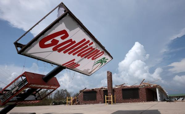 The city of Galliano, La. is still recovering after Hurricane Ida ripped through the southeastern part of the state on August 29. In addition to the destruction, more than 100,000 homes and businesses are still without power.