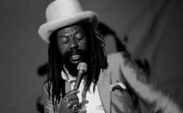 U-Roy, performing at Reggae Sunsplash in Montego Bay, Jamaica on Aug. 8, 1984.