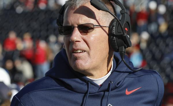 "Connecticut Huskies coach Randy Edsall and his players will not be taking the field this fall. Citing ""safety challenges,"" the school decided to cancel its 2020-21 football season."