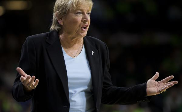 Sylvia Hatchell, who has led the Tar Heels since 1986, did not address the allegations against her or the findings of the independent report.