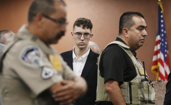 El Paso Walmart shooting suspect Patrick Crusius, shown here during his capital murder arraignment in El Paso, Texas, is accused of killing 22 people.