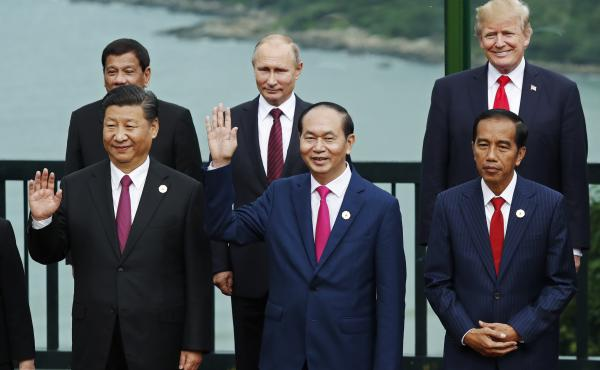A new Gallup report finds global regard for U.S. leadership rose slightly in 2018 after a dramatic drop in 2017. China and Russia also saw their leadership approval rankings tick up.