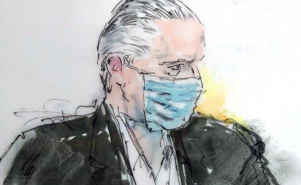 Mexican defense secretary Gen. Salvador Cienfuegos Zepeda, pictured in a court sketch, had been accused of  helping the H-2 Cartel, an extremely violent Mexican drug trafficking organization, traffic thousands of kilograms of cocaine, heroin, methamphetam