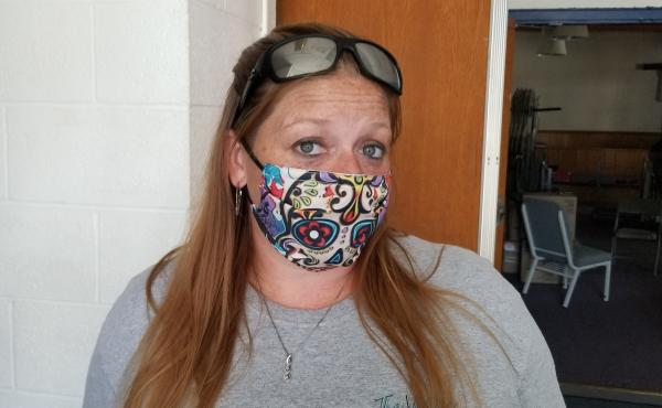 Jennifer Austin, a recovery coach who has struggled with addiction, usually hosts Narcotics Anonymous classes at this Salvation Army center in Ogdensburg, N.Y. They've been canceled because of the pandemic, leaving more people vulnerable to relapse and ov