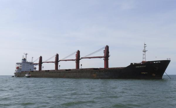 The Trump administration says it has seized a North Korean cargo ship, the Wise Honest, that U.S. officials say was used to transport coal in violation of international sanctions.