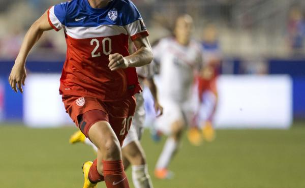 The U.S. Women's National Soccer Team left its CONCACAF tournament competition in the dust. The team didn't give up a single goal all tournament. Abby Wambach, shown controlling the ball in the second half of the U.S. 6-0 win over Costa Rica in the finals