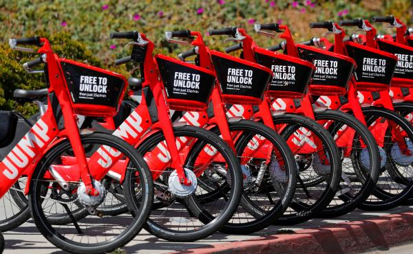 Uber is withdrawing its Jump electric bike rentals from Atlanta and San Diego.