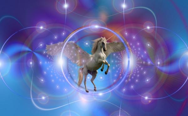 A majestic unicorn
