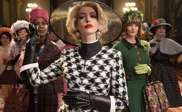 Anne Hathaway is the Grand High Witch in the film adaptation of Roald Dahl's The Witches.