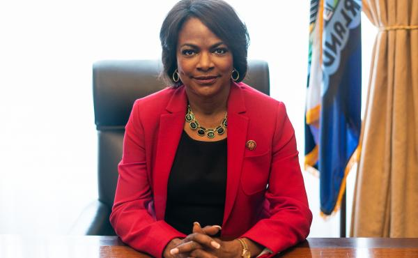 Florida Rep. Val Demings compares the impeachment saga to police work. As a former cop, she says police will make arrests to stop a threat — regardless of how a court will rule later.