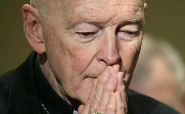 Theodore McCarrick, shown in 2011, has been accused of abusing minors and adults over a nearly 50-year clerical career.