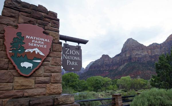 Zion National Park near Springdale, Utah, is one of more than 2,000 federal recreation sites that will be free to visitors on Veterans Day.