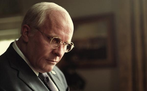 Christian Bale stars as Dick Cheney in Vice. The film, which was written and directed by Adam McKay, has been nominated for six Golden Globe Awards.