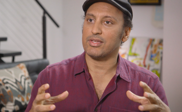 Actor, writer and comedian Aasif Mandvi.