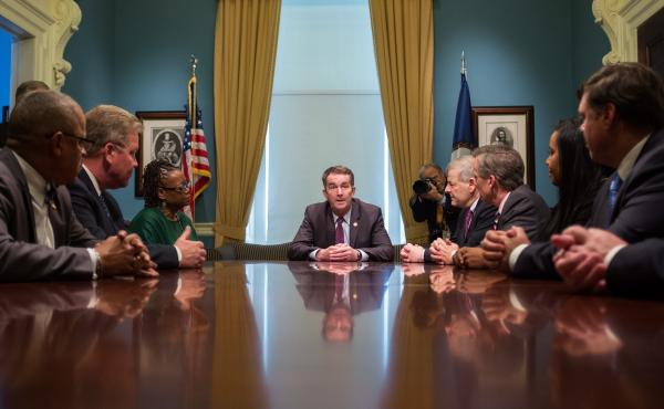 Virginia Gov. Ralph Northam met with legislators last week to discuss next steps in the budget. He wants Medicaid expansion to be a priority.