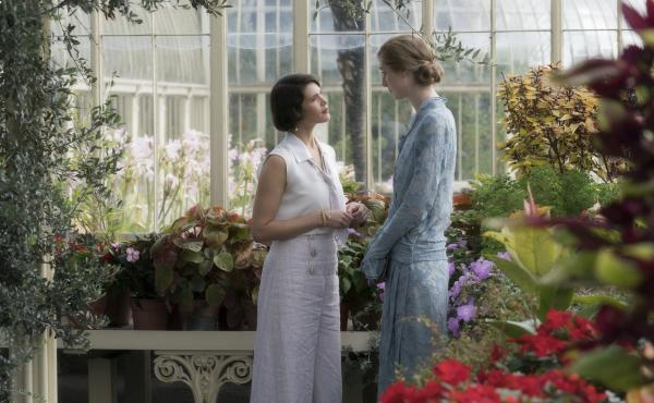 Gemma Arterton (left) and Elizabeth Debicki (right) star as socialite Vita Sackville-West and novelist Virginia Woolf in this true story about the love affair behind one of Woolf's greatest works.