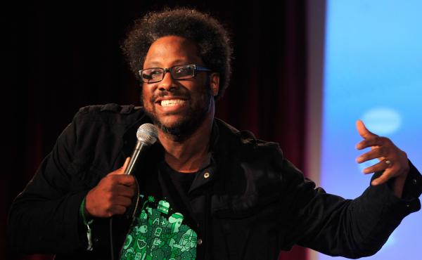 W. Kamau Bell performs at Vulture Festival Comedy Night in New York City in 2014.