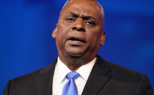 Retired U.S. Army General Lloyd Austin speaks after being nominated to be secretary of defense by President-elect Joe Biden.