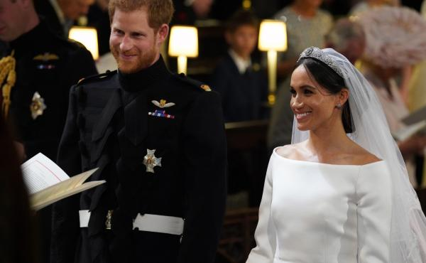 Prince Harry and Meghan Markle became the Duke and Duchess of Sussex upon their wedding at St. George's Chapel at Windsor Castle on Saturday.