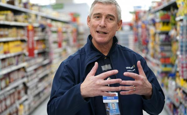 In a memo to store managers, Walmart U.S. CEO Greg Foran said the company is looking for other roles for greeters with disabilities who are due to lose their jobs.
