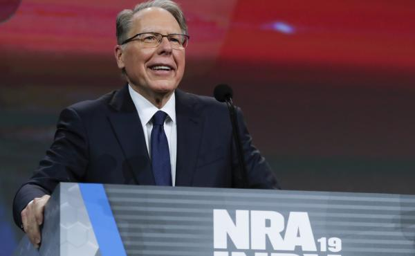 National Rifle Association Executive Vice President Wayne LaPierre faced criticism from the group's board members as allegations about financial mismanagement surfaced.