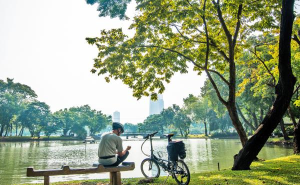 Well-kept parks, clean air and water, safe and friendly neighborhoods: these and many other factors outside our control contribute to health.