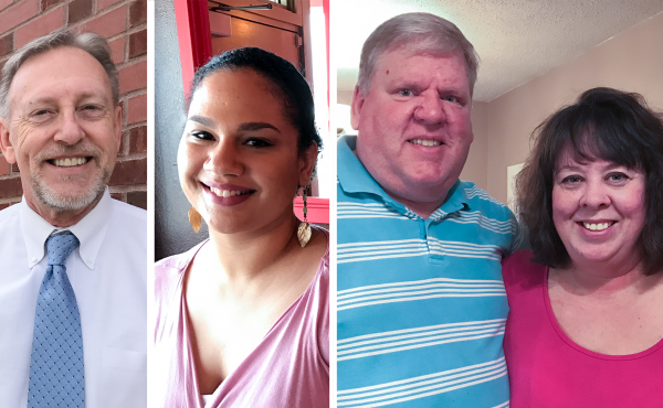 Ray Meyer, Annica Trotter and  Brian and Jennifer Barfield all were looking for work in 2011. Six years later, they are in different places and have different opinions on what they hope President Trump will say during Tuesday night's address.