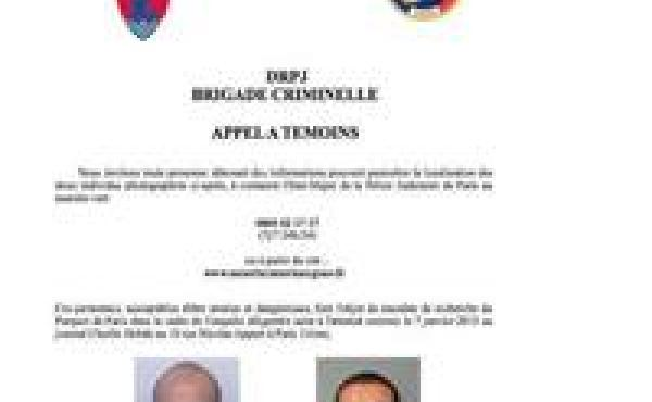 A police bulletin sought the public's help in finding two suspects in the deadly attack on a satirical magazine's Paris offices Wednesday. Pictured are brothers Chérif (left) and Said Kouachi.