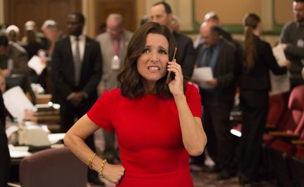 """Julia Louis-Dreyfus has won the """"Outstanding Lead Actress In A Comedy Series"""" Emmy five times for her portrayal of Selina Meyer in HBO's Veep."""