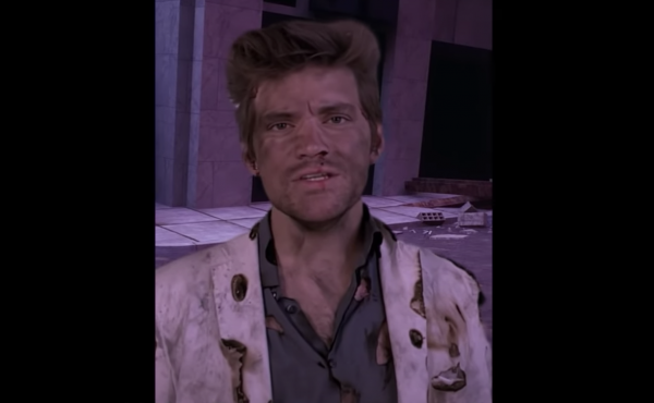 "A screenshot from Nick Lustko's video ""Spirit Halloween Planet."""