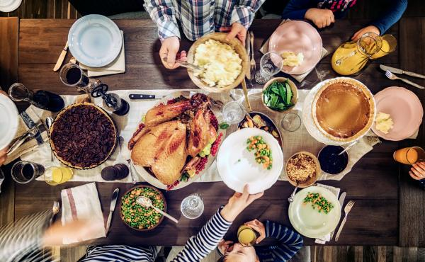 Cooking up a traditional Thanksgiving meal, with stuffed turkey, mashed potatoes, cranberry sauce, vegetables and pumpkin pie is stressful enough. But when a child is vegan or vegetarian, it can ramp up the anxiety.