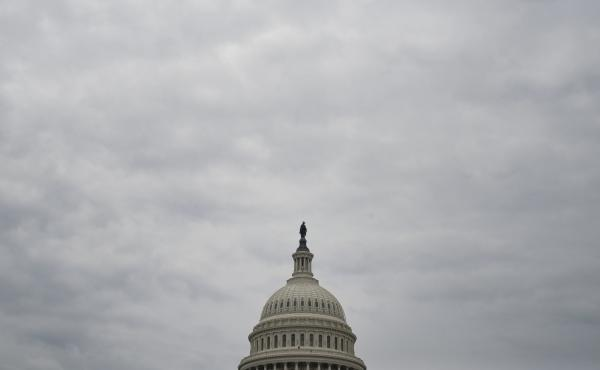 The rotunda of the Capitol during the inauguration of Donald Trump in January.
