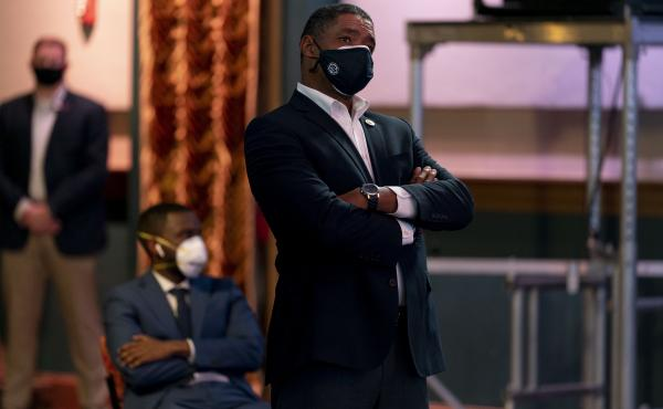 Cedric Richmond, seen here in a file photo, says the White House sees bipartisan support for the sprawling COVID-19 relief package — despite what Republicans in Congress are saying.