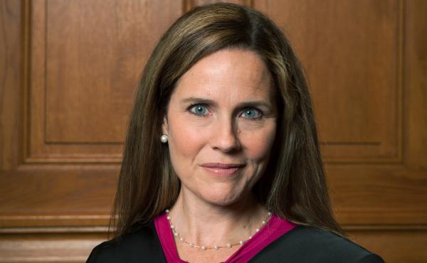 Judge Amy Coney Barrett, pictured in 2018, of the 7th U.S. Circuit Court of Appeals is a favorite among social conservatives.