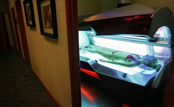 The GOP health bills would eliminate the 10 percent tax on the use of tanning beds. It was one of more than a dozen taxes introduced as part of the Affordable Care Act.