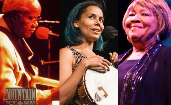 Pops Staples, Rhiannon Giddens, Mavis Staples and Patterson Hood of Drive-By Truckers perform on Mountain Stage.