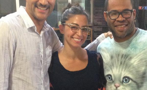 Keegan-Michael Key and Jordan Peele talk Ax vs. Ask with NPR's Shereen Marisol Meraji.