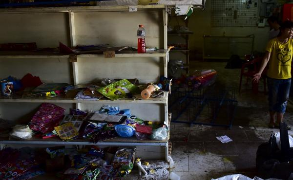 One of many grocery stores in Venezuela where the shelves are bare. Even in regions such as Latin America that do well overall, there are glaring exceptions, such as Venezuela, where political turmoil has created massive price inflation and food shortages