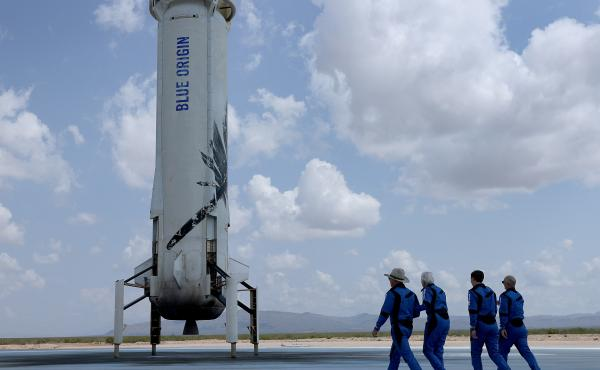 Space companies like Blue Origin are grabbing headlines with the promise of a new era of space tourism, mostly recently with the plan to send William Shatner to the edge of space. But unless you're lucky, space is still out of reach for most of the public