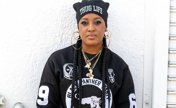 WALKING LIKE A PANTHER: Rapsody celebrates the legacy of black women with Eve, out August 23.